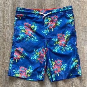 Gap Kids Floral Swim Trunks